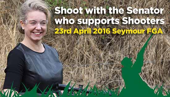 Shoot with a Senator
