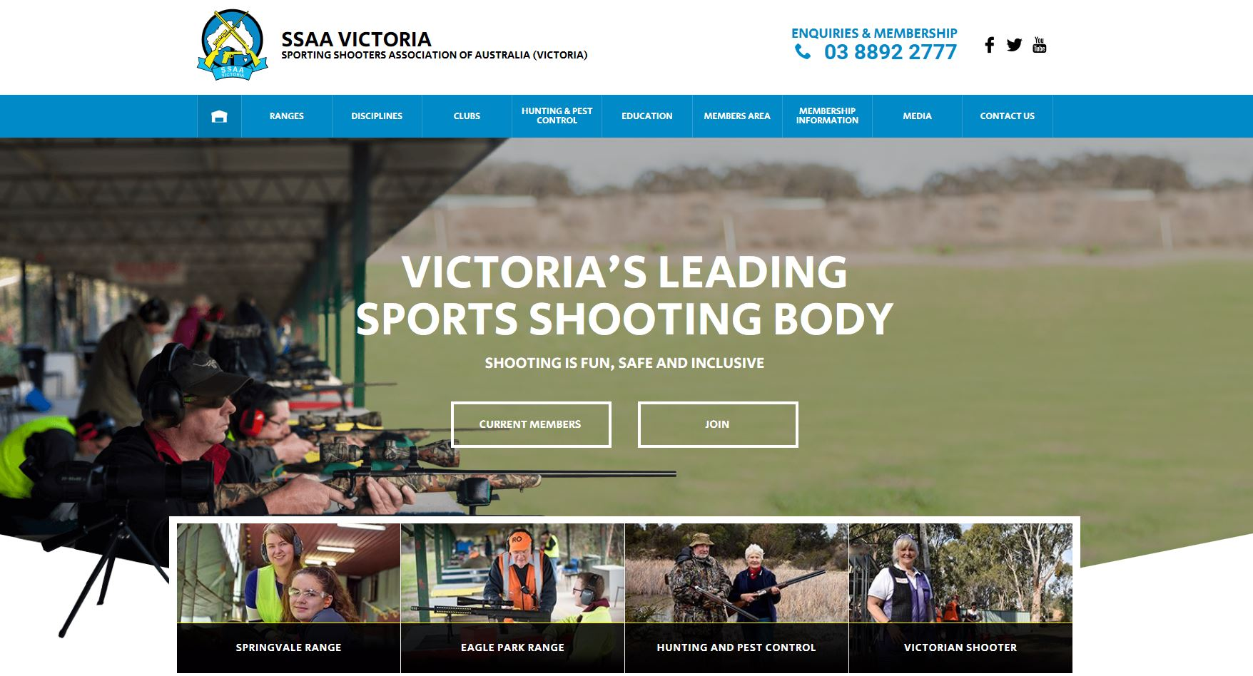 SSAA Victoria launches new website