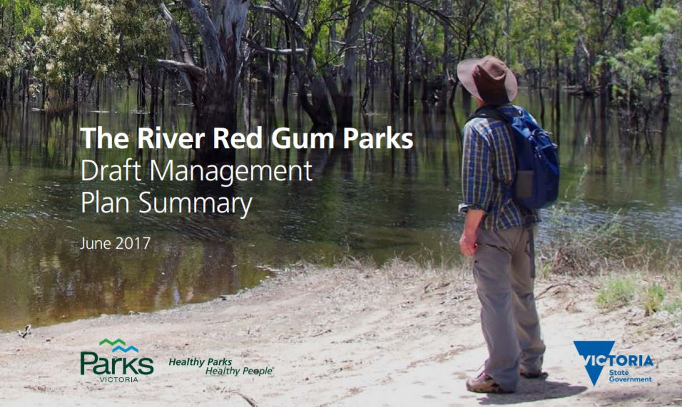 River Red Gum Parks draft plan released