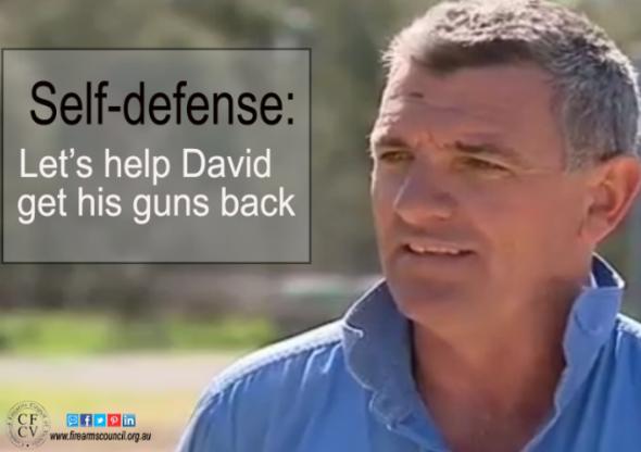 NSW farmer's guns returned