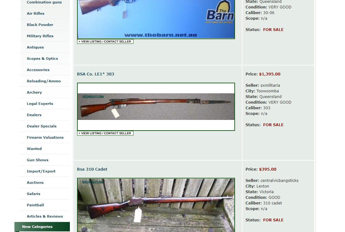 SSAA Victoria applauds new online gun sales law - SSAA Victoria