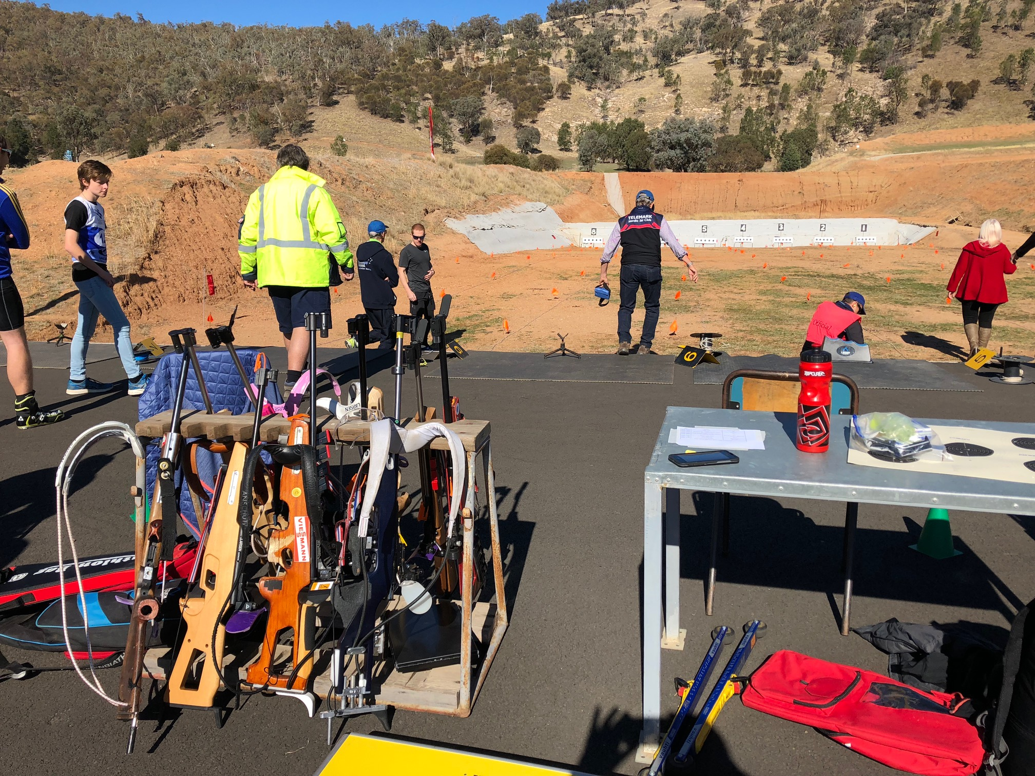 Wodonga biathlon range officially opened