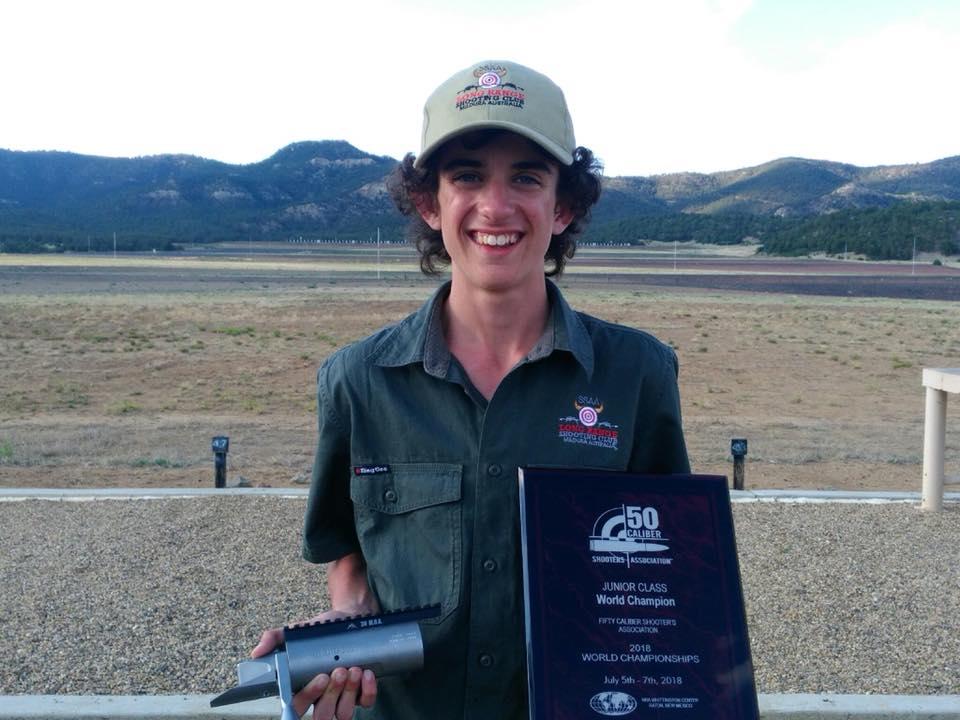 SSAA Victoria's Lachie Adolph new world champion