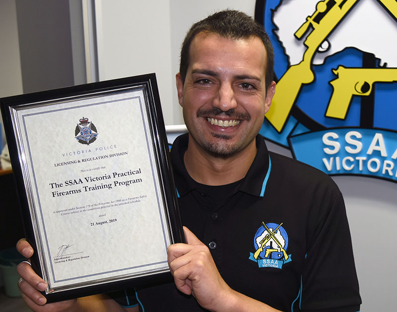 SSAA Victoria firearms course officially recognised