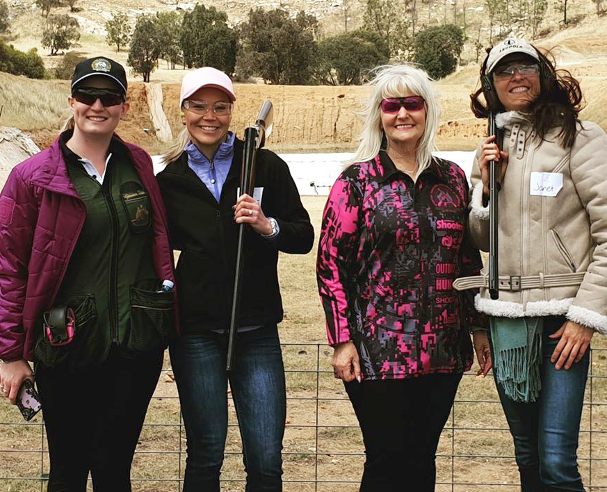 Wodonga women turn out to shoot