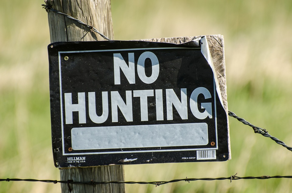Recreational Hunting and Fishing Now Off Limits