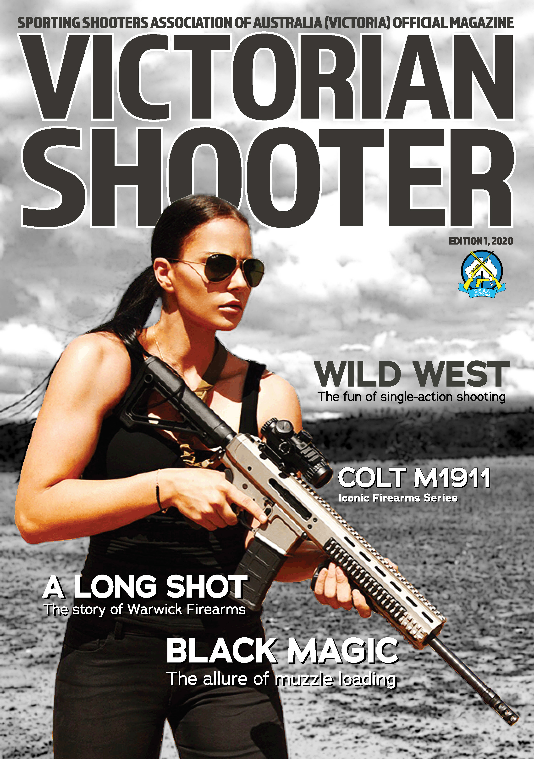 Edition 1 of Victorian Shooter is now online
