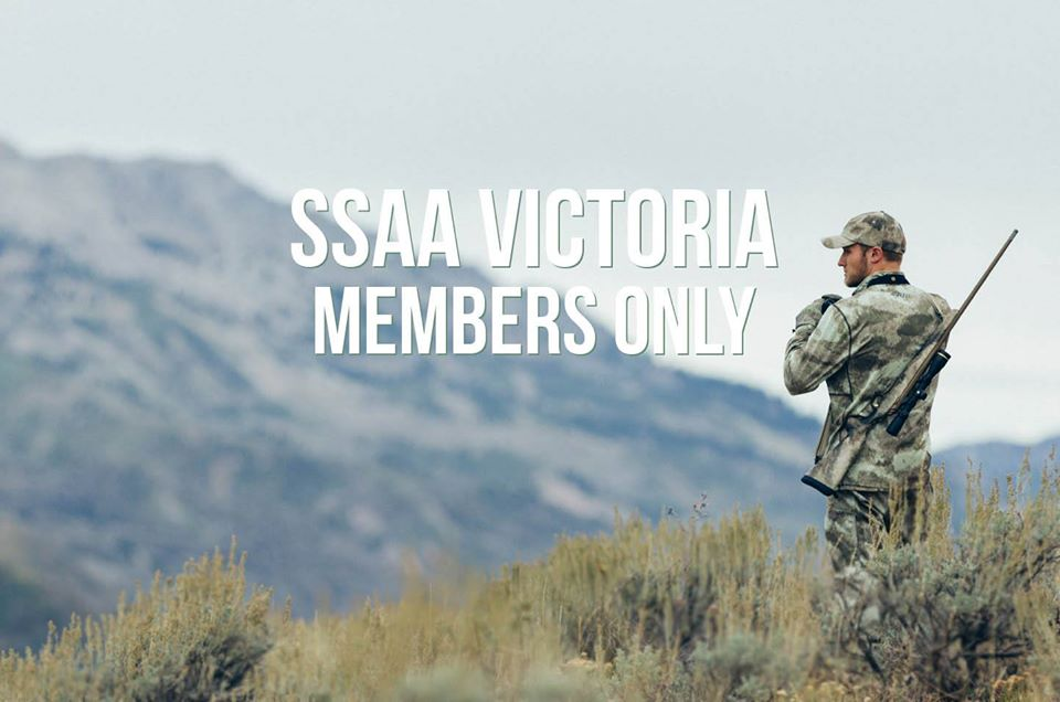New SSAA Victoria Members Only Facebook Page