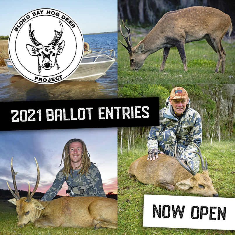 2021 Blond Bay Hunt Ballot Now Open